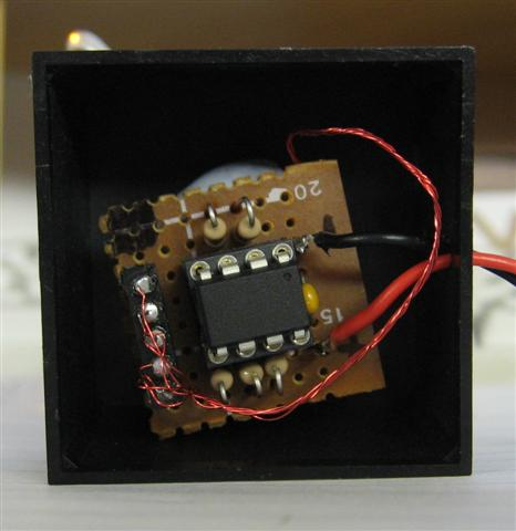 The controller board for the xmas-tree display unit.