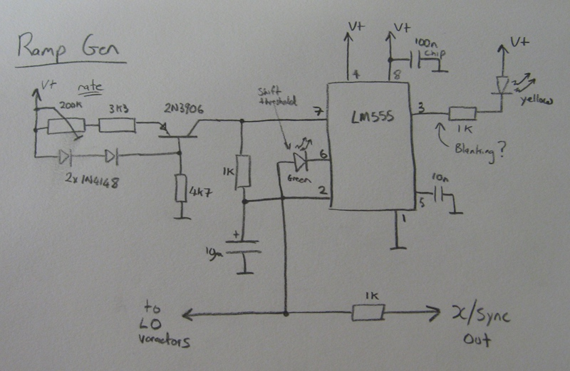 Circuit Diagram - Ramp Generator