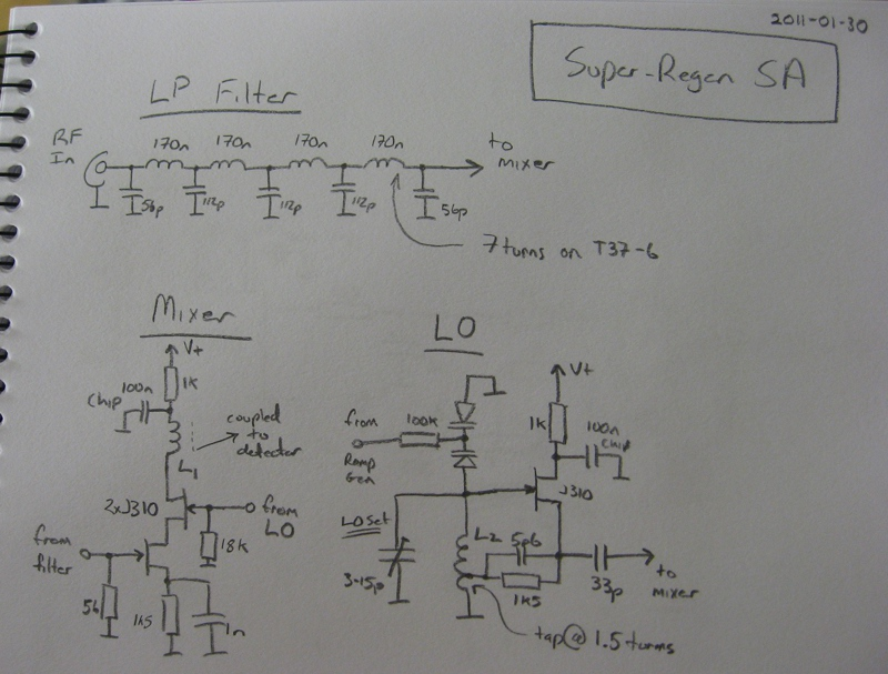 Circuit Diagram - RF Front-End
