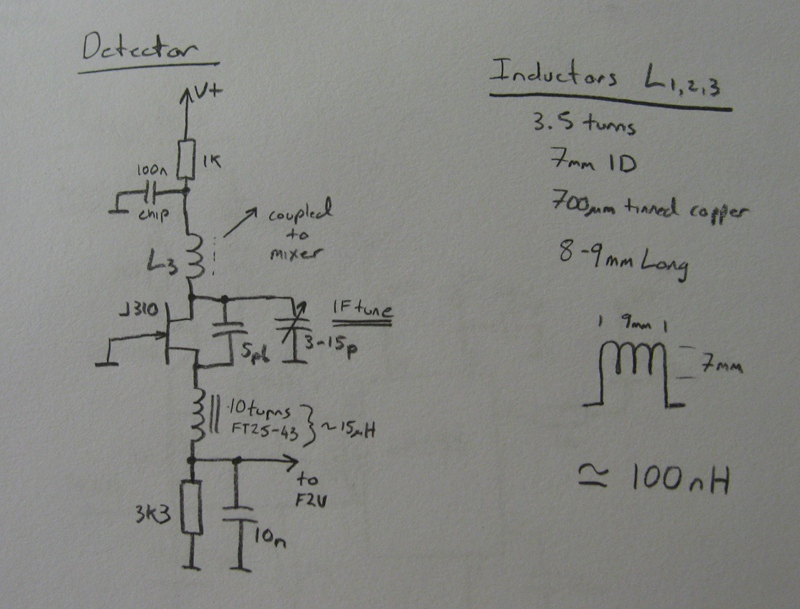 Circuit Diagram - Super-Regenerative Detector