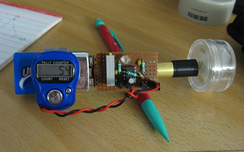 Pocket Photodiode Gamma Detector