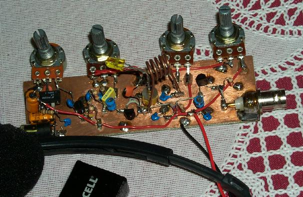 finished super-regenerative receiver