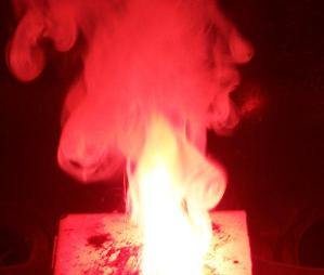 lancaster chlorate red #3 burning