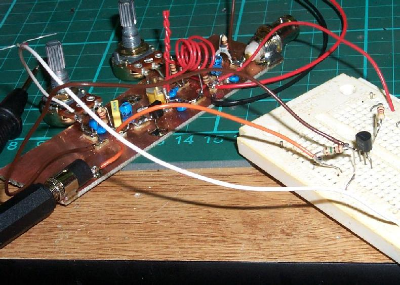 prototype super-regenerative receiver