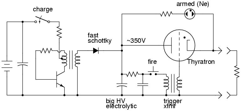 capacitive discharge firing box circuit