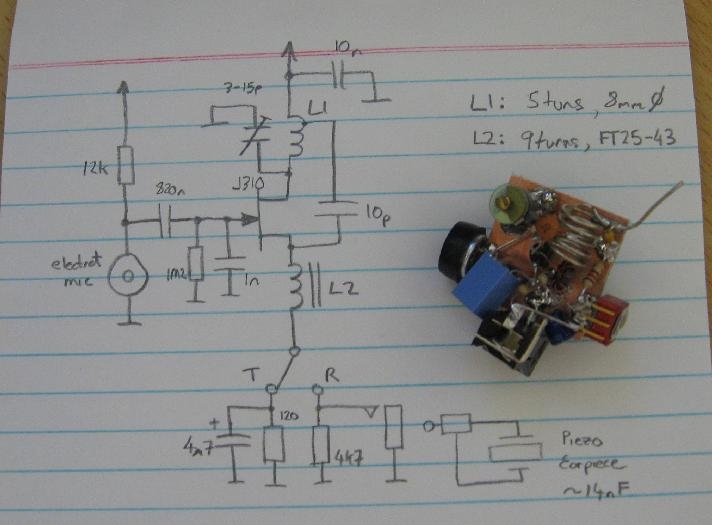 Prototype and its Circuit