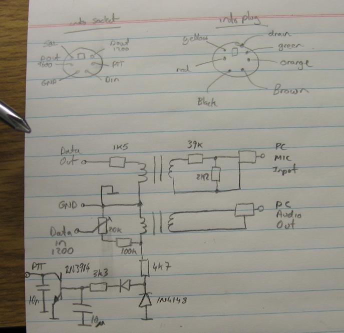 Interface Circuit Diagram