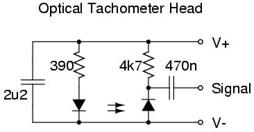 tacho head circuit diagram